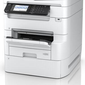 White printer with small display screen - Epson WF-C879R