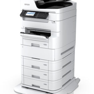 Tall, white printer - Epson WF-C879RTC