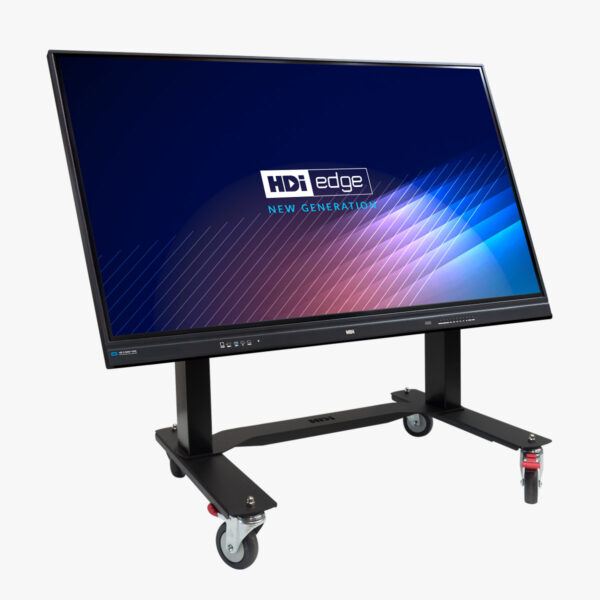 HDi Interactive Screen on stand tilted